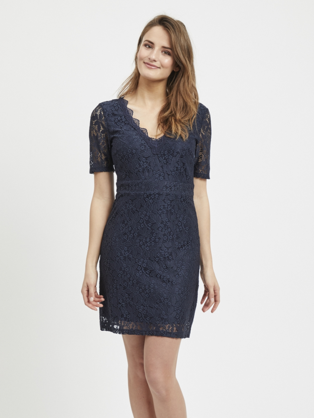 OBJTAYLOR S/S LACE DRESS